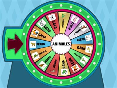 RULETA DE ANIMALES