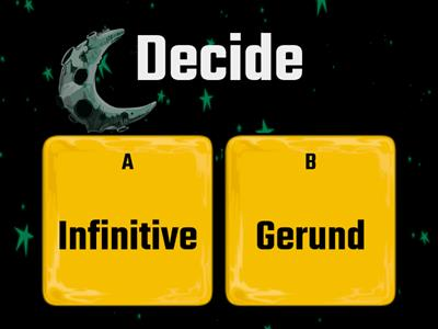 Gerund/Infinitive (Intermediate)