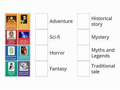 Text genres - Types of narrative