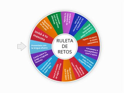 RULETA DE RETOS