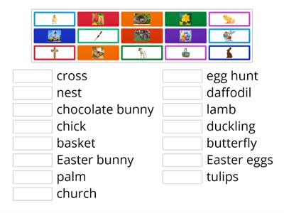 Easter - vocabulary