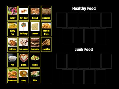 Healthy Food or Junk Food?
