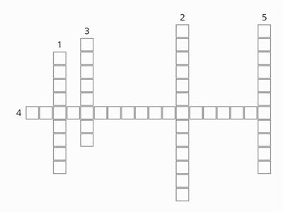 Angles in Parallel Lines Crossword