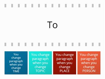ToPTiP paragraphing tips