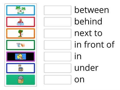 Brainy 5. Unit 2. Prepositions of place