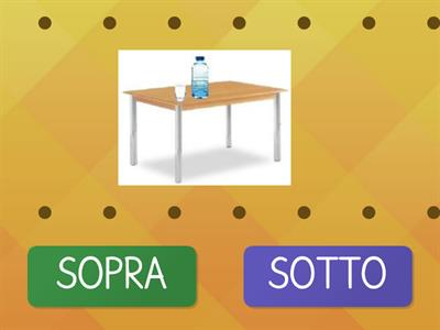Copy of SOPRA - SOTTO