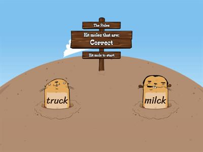 Level 3 Milk Truck Rule Whack a Mole