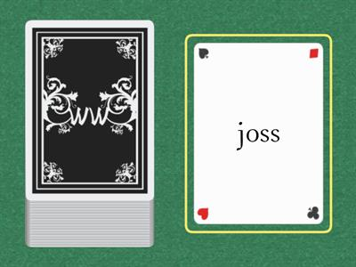 Wilson 1.4 Word Cards