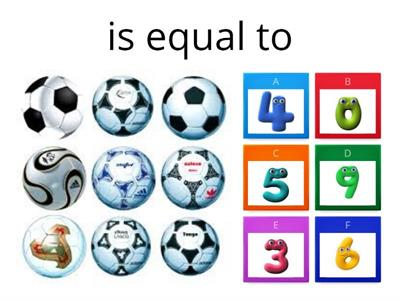 Can you match the equal amounts