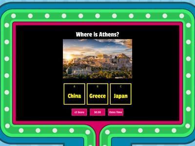 Geographical Quiz