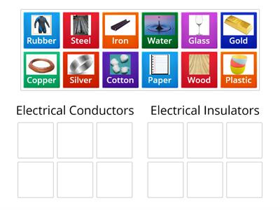 Robinson Copy of Sorting Conductors and Insulators