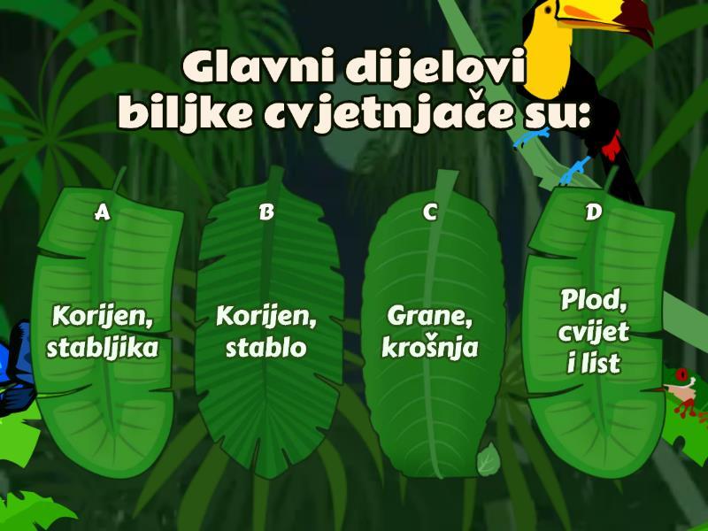 biljke i životinje - Kviz