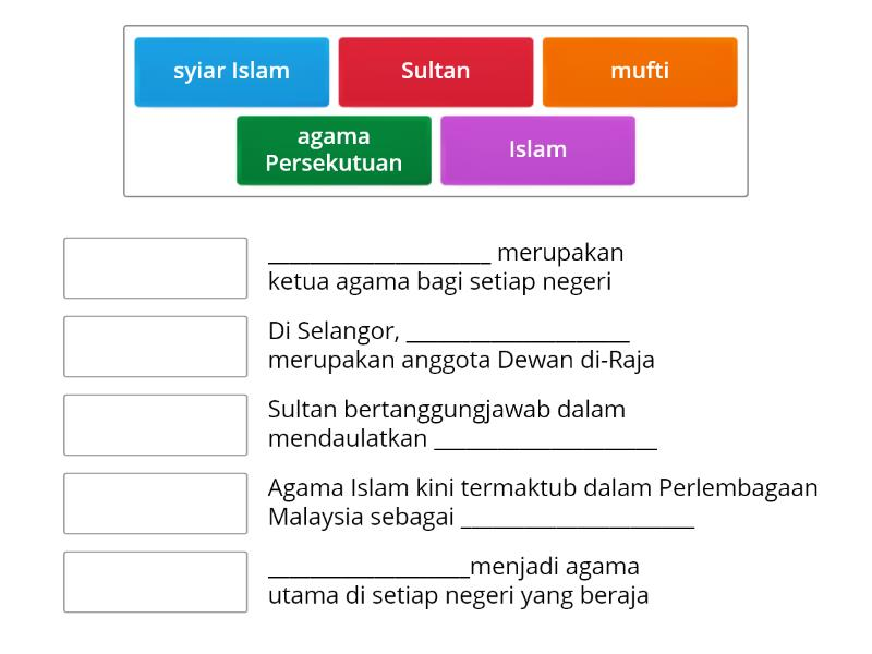 Bab 7 2 Agama Islam Dalam Pemerintahan Match Up