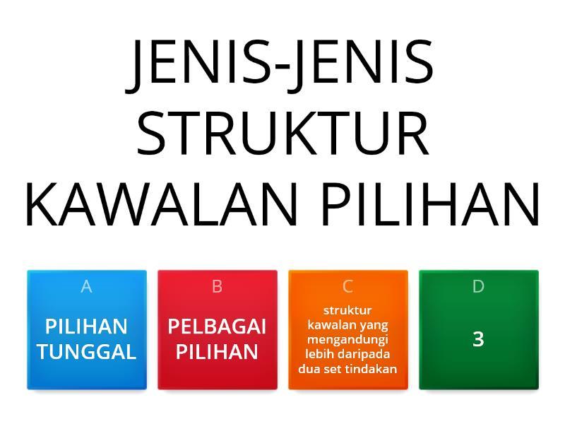 Struktur Kawalan Pilihan Quiz