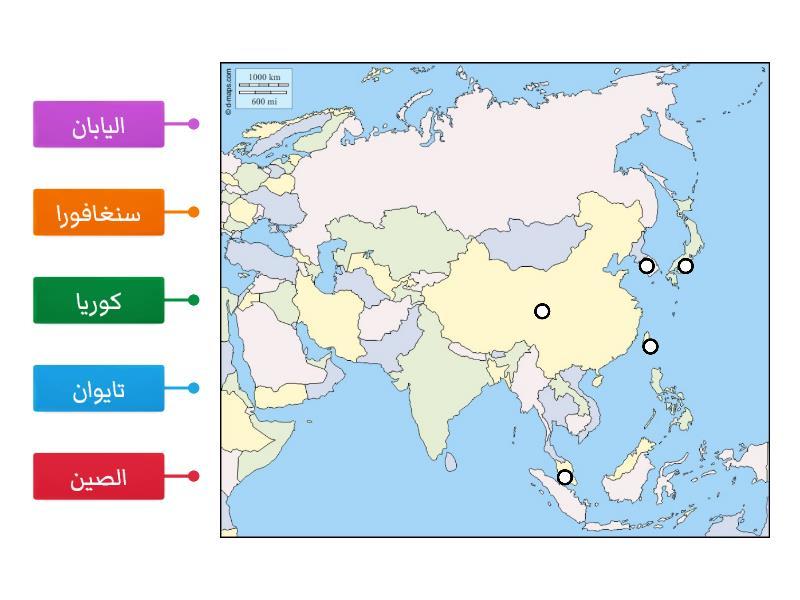 خريطة الصين صماء