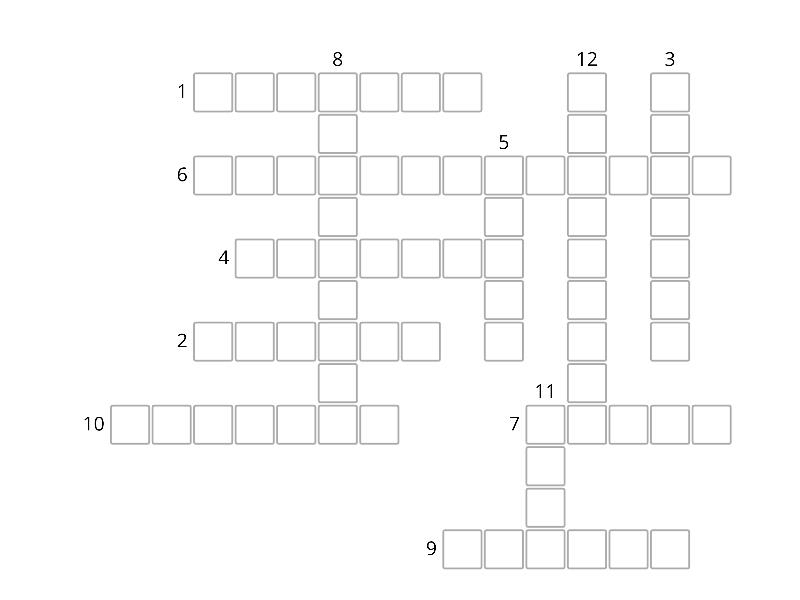 Macbeth Crossword Teaching Resource