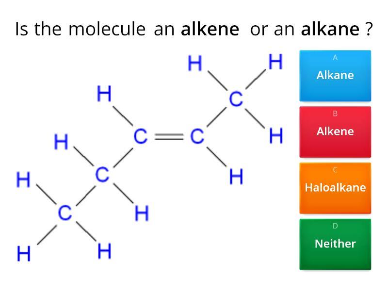Organic chemistry revision lesson (Wellington College) MCQ