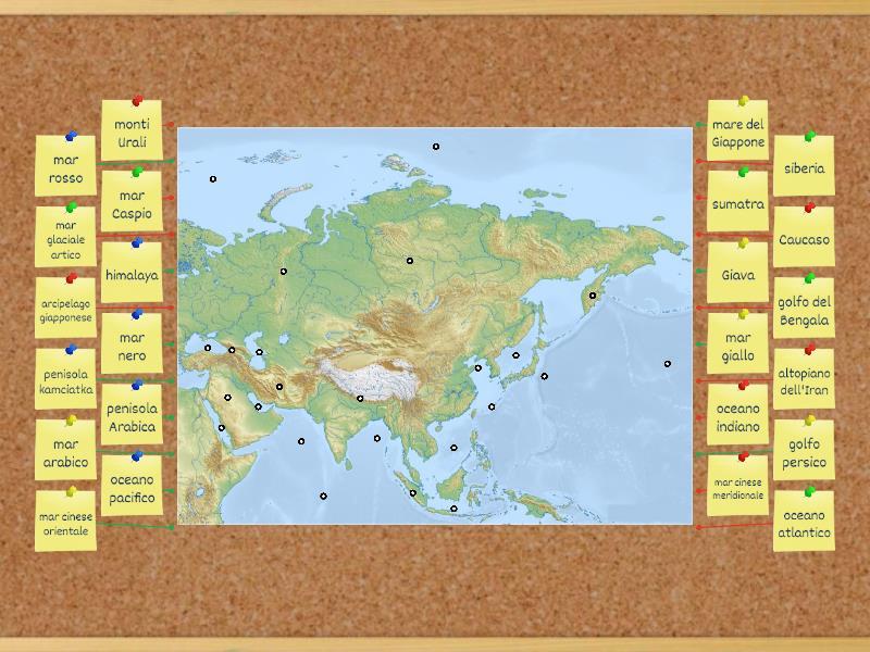 Cartina Asia Fisica Muta.Cartina Fisica Muta Asia مخطط المربعات