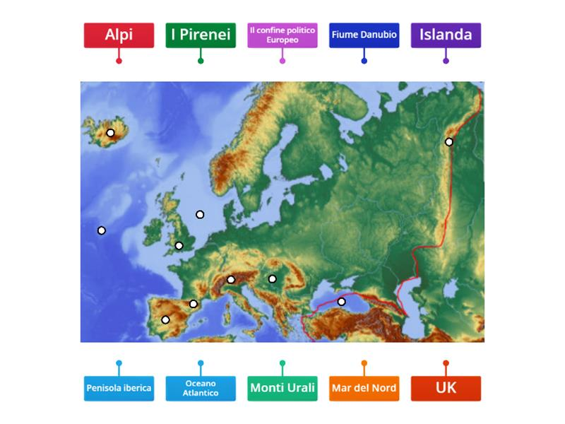Cartina Muta Nord Europa.Carta Muta Europa Fisica مخطط المربعات