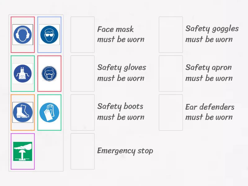 Health And Safety Symbols Teaching Resource